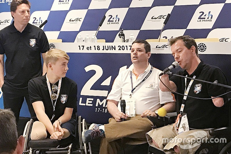 Billy Monger racet in november en heeft Le Mans 2020 als doel