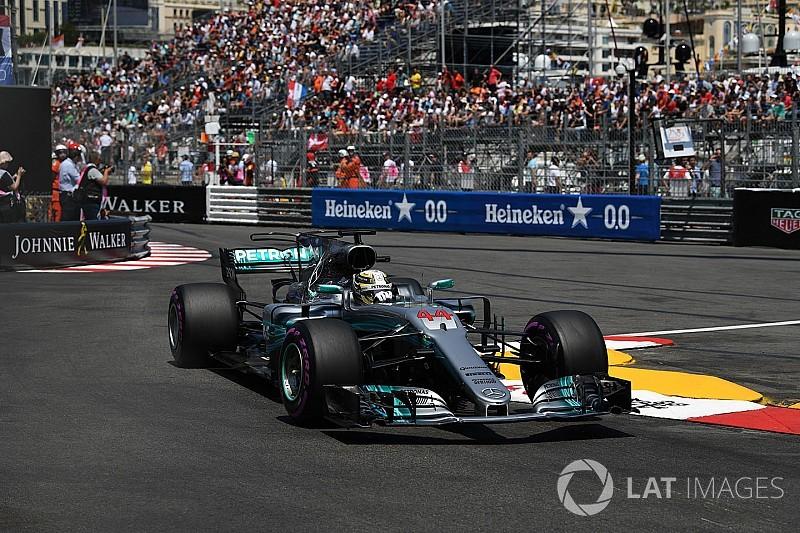 "Hamilton: Pengendalian mobil di Monako ""terasa tidak biasa"""