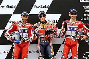 MotoGP Отчет о квалификации Маркес в третий раз подряд выиграл квалификацию MotoGP