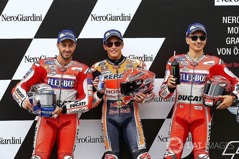 Austria MotoGP: Marquez beats Ducatis for third straight pole
