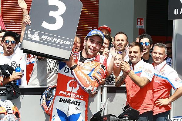 Danilo Petrucci hätte für Podium bei MotoGP in Mugello