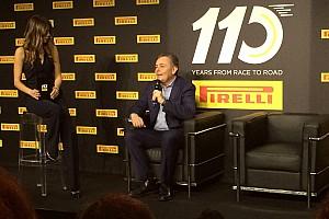 Speciale Conferenza stampa Pirelli festeggia a Torino i 110 anni nel Motorsport fra Italia e F.1