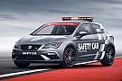 WSBK El SEAT Leon CUPRA, nuevo 'safety car' del WorldSBK