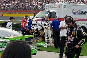 NASCAR Cup Breaking news Kyle Busch's winning streak ends at Charlotte infield care center