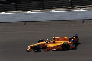 IndyCar Reporte de prácticas Video: la destacada actuación de Alonso el jueves en Indy 500