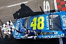 Джонсон завоевал 81-ю победу в NASCAR