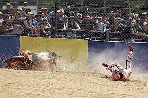 MotoGP 速報ニュース シュワンツ、マルケスの攻撃的な走りを賞賛も「リスクを避けるべき」