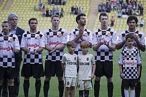 Формула 1 Самое интересное Гонщики против звезд: как прошел футбольный матч перед Гран При Монако