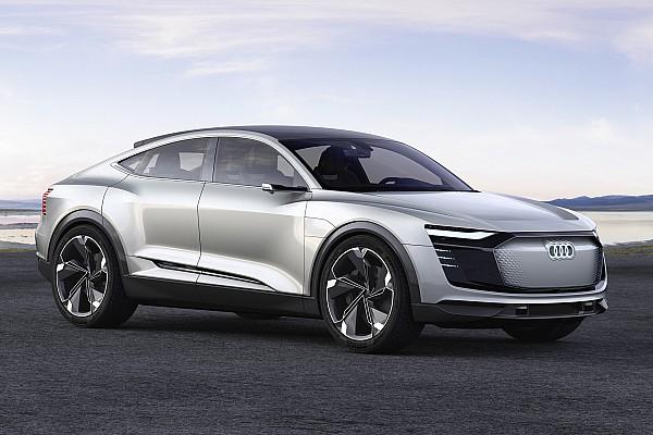 Automotive News Bildergalerie: Designstudie Audi e-tron Sportback