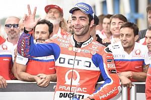 MotoGP Intervista Petrucci protesta: