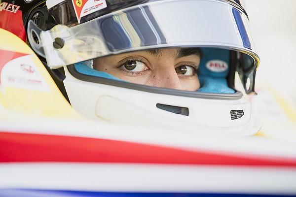 Zoon Alesi voor derde achtereenvolgende seizoen in GP3
