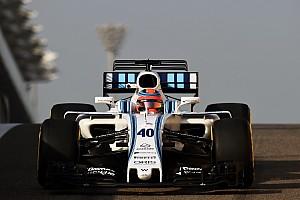 Formel 1 News Robert Kubica: 100 Runden für Williams in Abu Dhabi