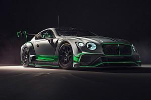 Blancpain Endurance Nieuws Vergelijk: Bentley onthult nieuwe Continental GT3