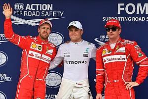 F1 排位赛报告 巴西大奖赛排位赛:博塔斯力压维特尔摘杆位,汉密尔顿撞车垫底