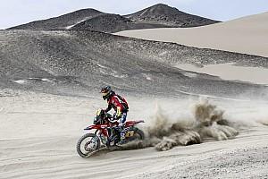 Dakar Rapport d'étape Motos, étape 5 - Barreda domine et revient dans la course