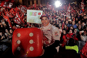 MotoGP News Marc Marquez feiert WM-Party in Heimatstadt Cervera