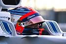 Кубіца дебютує за кермом Williams FW41 в Арагоні