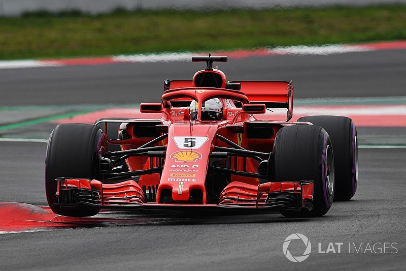 Vettel tops penultimate test day by over a second