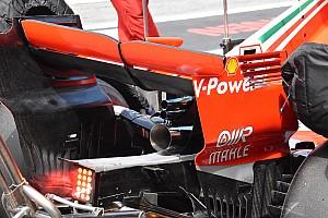 Ferrari trials unique exhaust system
