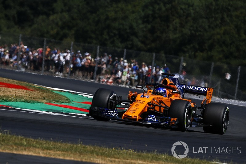 Alonso: Silverstone, 2018'deki en iyi sıralama turumdu