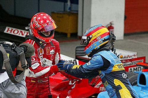 Il y a 15 ans : le duel entre Alonso et Schumacher à Imola