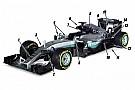 Tech analyse: De 15 voornaamste wijzigingen aan de Mercedes W07