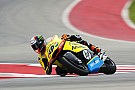 Austin Moto2: Rins clinches pole in red-flagged session