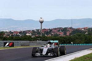 Formula 1 Practice report Hungarian GP: Hamilton quickest as Mercedes dominates FP1