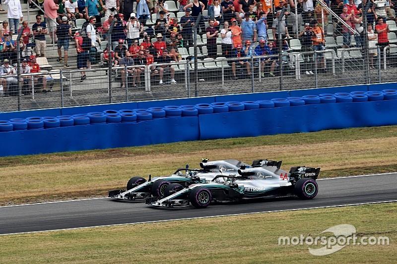 Mercedes: akkor is lett volna csapatutasítás, ha Bottas van elöl