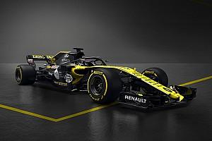 Renault stelt knalgeel met zwarte Formule 1-wagen voor 2018 voor