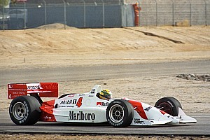 Fotostrecke: Als Ayrton Senna ein IndyCar testete