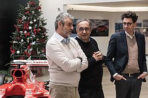 Marchionne: Maranello çok sessiz, 2018 aracımız ya