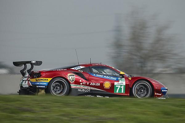 VÍDEO: A nova Ferrari 488 GTE do WEC em Fiorano
