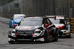 WTCC Crónica de Carrera Rob Huff impone récord de nueve triunfos en Macau