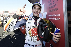 MotoGP Race report Valencia MotoGP: Marquez seals fourth title in dramatic finale