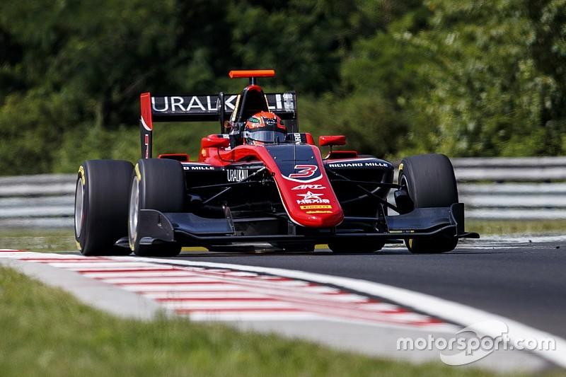 Mazepin vence etapa da Hungria da GP3; Piquet é 12º