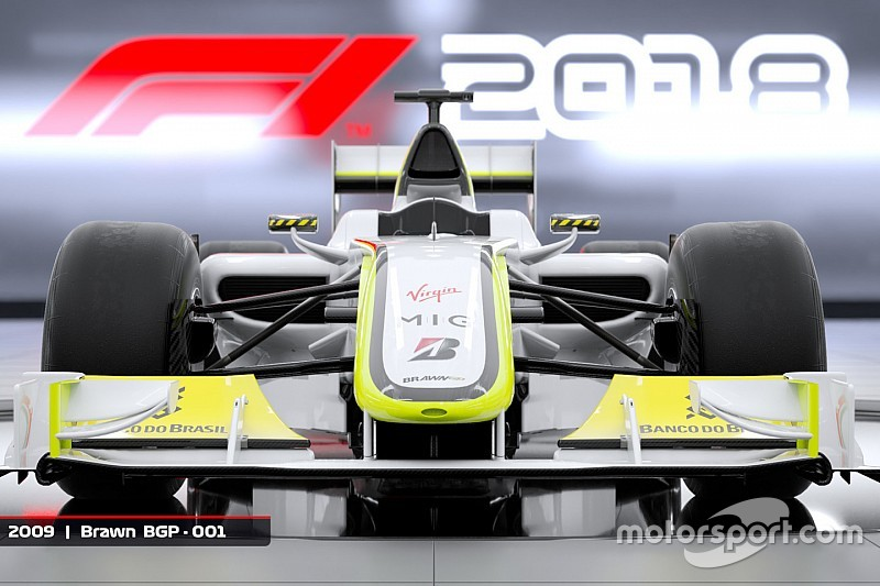 la brawn gp de 2009 sera dans f1 2018. Black Bedroom Furniture Sets. Home Design Ideas
