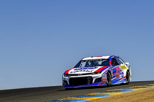NASCAR Cup Allmendinger dejected after Sonoma DNF: