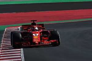 Fórmula 1 Crónica de test Vettel fue el mejor del primer día en Barcelona