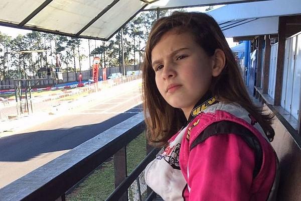 Kart Últimas notícias Como uma piloto de 11 anos é exemplo de superação