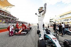 F1アメリカ:PP獲得ハミルトン、驚異的アタックでベッテルに0.2秒差