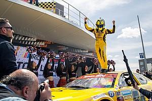 NASCAR Euro Breaking news Alon Day scores NASCAR Euro Series win in season opener