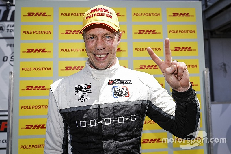 WTCR Nurburgring: Pole Bjork'ün