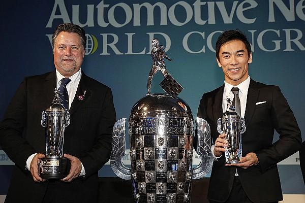 Sato e Andretti recebem