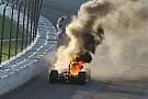 Взрыв дрэгстера и пожар в IndyCar: лучшие гоночные видео уик-энда