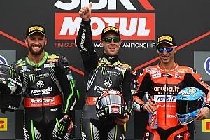 World Superbike Crónica de Carrera Rea y Sykes le dan el 1-2 a Kawasaki en Imola