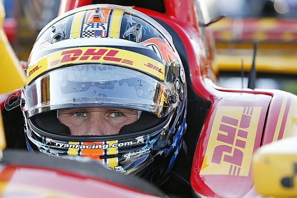 Hunter-Reay sulla Cadillac della Wayne Taylor Racing alla Petit Le Mans