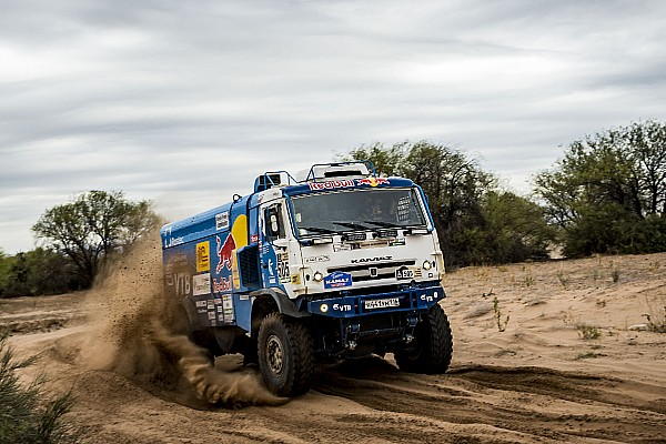 Dakar Dakar 2017, Stage 12: Nikolaev leads Kamaz 1-2 in trucks