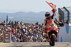 MotoGP Réactions Márquez, vainqueur en Aragón, se