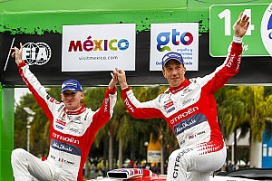WRC Leg report Mexico WRC: Meeke wins despite bizarre car park incident